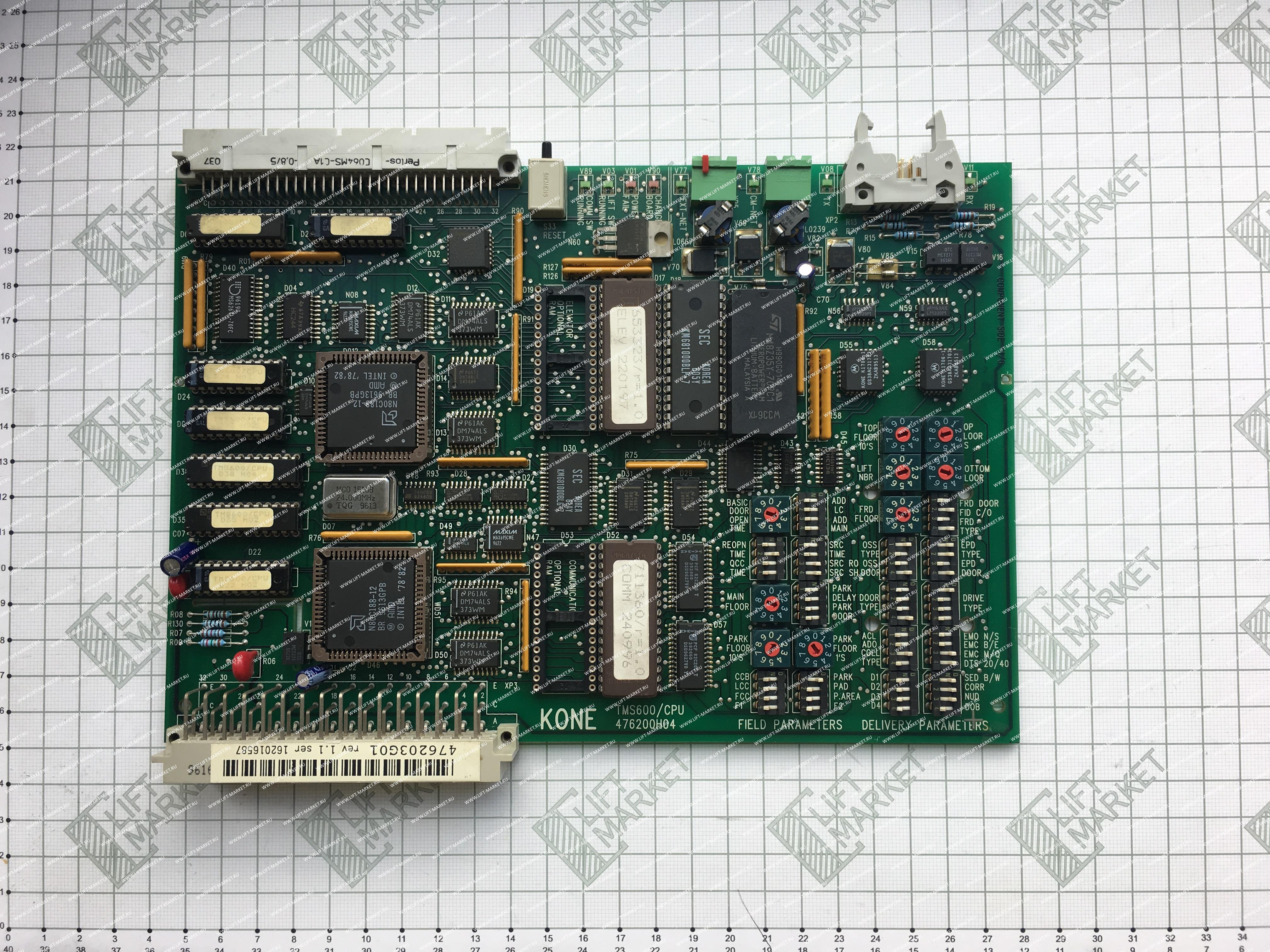 Плата TMS600/CPU ASSEMBLY KONE (КОНЕ) фото